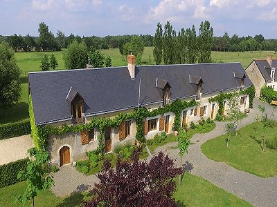 Image 5 | 6 bedroom house for sale with 16 hectares of land, Le Lude, Sarthe , Loire Valley 186655