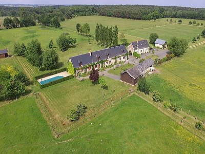Image 6 | 6 bedroom house for sale with 16 hectares of land, Le Lude, Sarthe , Loire Valley 186655