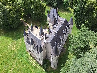 Image 25 | Charming French Chateau for Sale in the Loire Valley with 11 Bedrooms and Boutique Hotel Appeal 187049