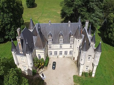 Image 28 | Charming French Chateau for Sale in the Loire Valley with 11 Bedrooms and Boutique Hotel Appeal 187049