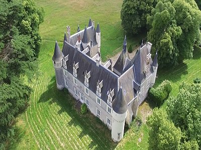 Image 4 | Charming French Chateau for Sale in the Loire Valley with 11 Bedrooms and Boutique Hotel Appeal 187049
