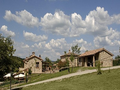 Image 4 | Agrotourism Complex with 4 Farmhouses in Citta Della Pieve, Umbria for sale with 90000m2 of land 187103