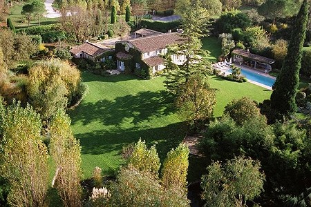 Image 1 | 6 bedroom villa for sale with 0.57 hectares of land, Chateauneuf, Grasse, French Riviera 187370