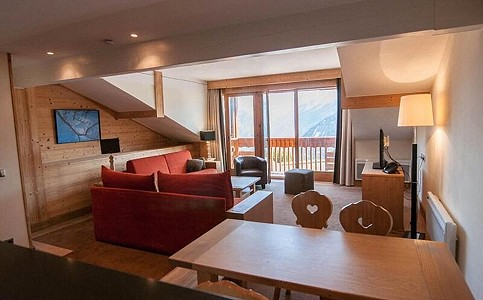 1 bedroom penthouse for sale, 1850, Courchevel, Savoie, Rhone-Alpes