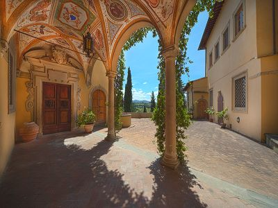 Fabulous Castle / Villa near to Florence in Tuscany for Sale with Boutique Hotel Opportunities
