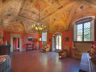 Image 3 | Fabulous Castle / Villa near to Florence in Tuscany for Sale with Boutique Hotel Opportunities  188284