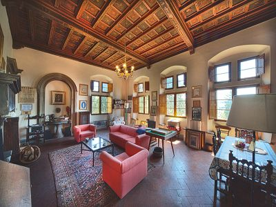 Image 6 | Fabulous Castle / Villa near to Florence in Tuscany for Sale with Boutique Hotel Opportunities  188284
