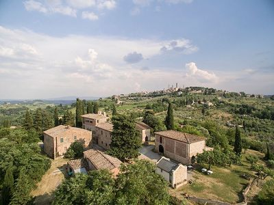 Fabulous Vineyard in San Gimignano, Tuscany for Sale  with  Additional Agriturismo