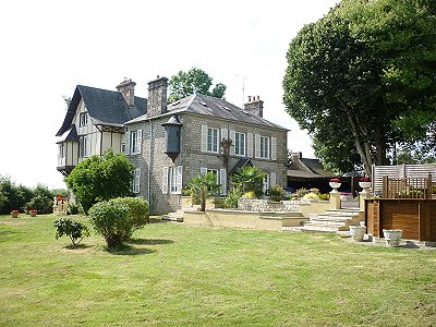 7 bedroom French chateau for sale, Domfront, Orne, Lower Normandy