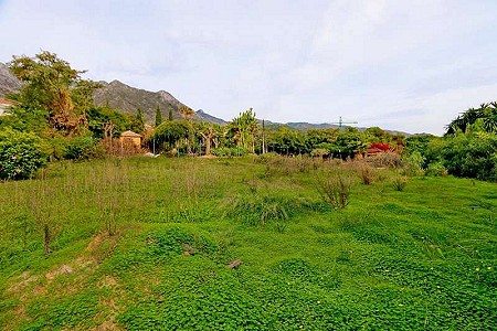 Plot of land for sale, Sierra Blanca, Marbella Golden Mile, Malaga Costa del Sol