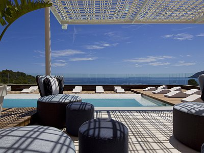 Stunning sea front 5 star boutique hotel for sale in Ibiza