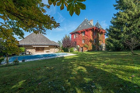 6 bedroom French chateau for sale, Annecy, Haute-Savoie, Lake Annecy