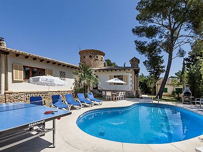 6 bedroom villa for sale, Puerto Pollensa, Pollenca, Mallorca
