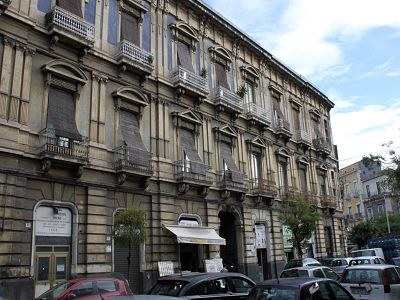7 bedroom apartment for sale, Scannapieco palace, Via Plebiscito, Catania, Sicily