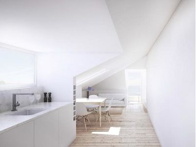 Two one-bedroom apartments for Sale in Lisbon with River Views.