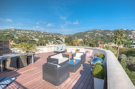 3 bedroom penthouse for sale, Montfleury, Cannes, Provence French Riviera
