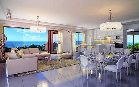 3 bedroom apartment for sale, Golfe-Juan, Cannes, Antibes Juan les Pins, Provence French Riviera
