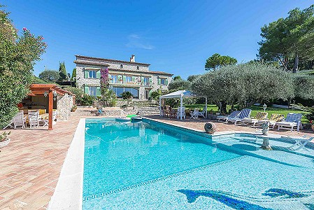 6 bedroom villa for sale, Mougins, Provence French Riviera