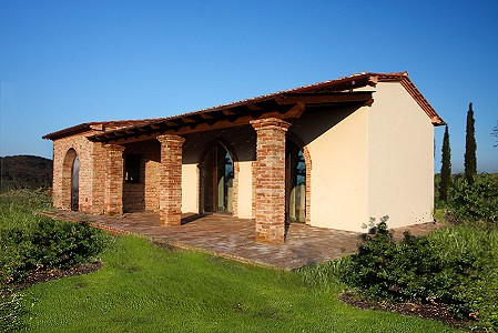 2 bedroom farmhouse for sale, Peccioli hills, Pisa, Tuscany