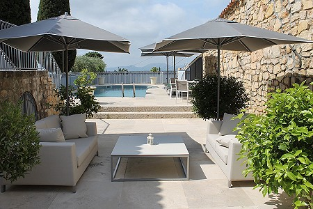 3 bedroom penthouse for sale, Mougins, Cote d'Azur French Riviera