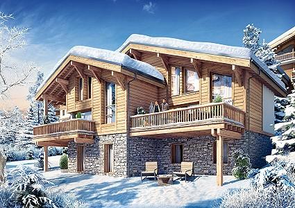 2 bedroom ski chalet for sale, Combloux, Haute-Savoie, Rhone-Alpes