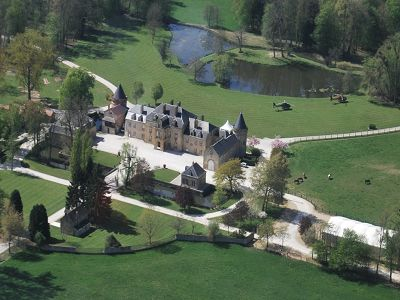 Superb French Chateau Hotel for Sale in the Ardennes with 33 Bedrooms