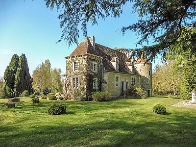 5 bedroom manor house for sale, Mauves Sur Huisne, Orne, Lower Normandy
