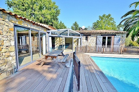 4 bedroom bungalow for sale, Valbonne, Cote d'Azur French Riviera