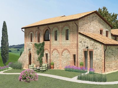 1 bedroom apartment for sale, Pienza, Siena, Tuscany