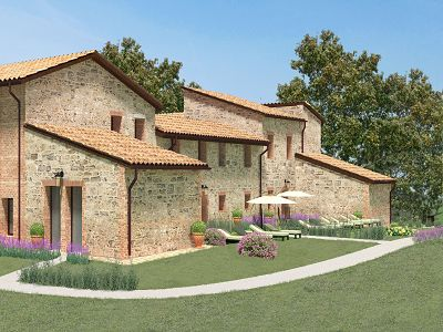 2 bedroom apartment for sale, Pienza, Siena, Tuscany