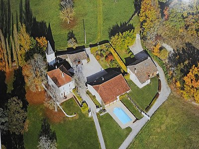 6 bedroom manor house for sale, Montaigu De Quercy, Tarn-et-Garonne, Midi-Pyrenees