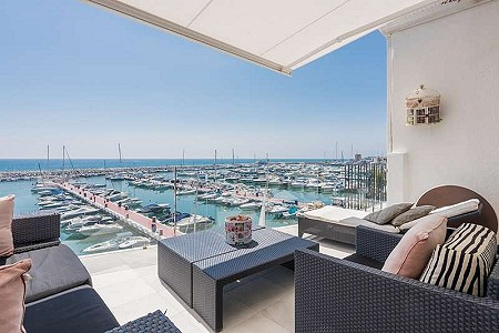 2 bedroom penthouse for sale, Puerto Banus, Marbella, Malaga Costa del Sol, Andalucia