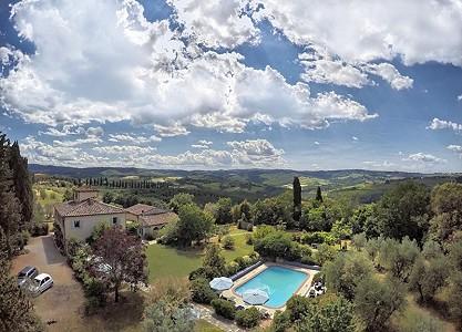 6 bedroom farmhouse for sale, San Gimignano, Siena, Tuscany