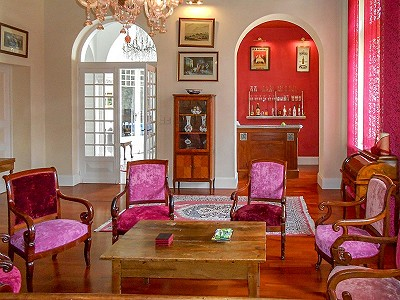 Image 3 | Stunning XVIIIth century chateau plus gite for sale with 7 bedrooms and pool 201198