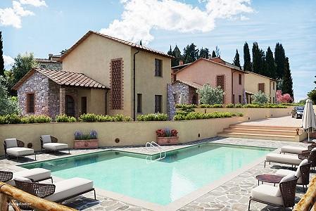 3 bedroom villa for sale, Orciatico Village, Pisa, Tuscany