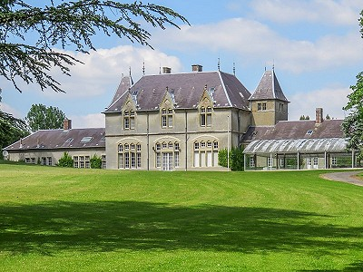 12 bedroom French chateau for sale, Bavelincourt, Somme, Picardy
