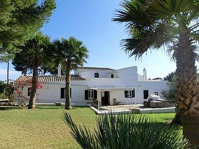 8 bedroom villa for sale, Biniparrell, Sant Lluis, Menorca