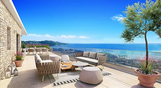 2 bedroom apartment for sale, Sainte Maxime, Cote d'Azur French Riviera