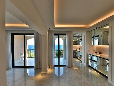 Superb 3 bedroom apartment for sale in Monaco with pool and sea view