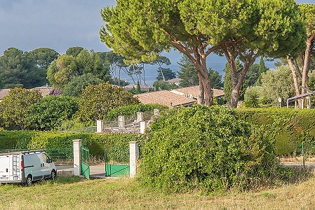 Plot of land for sale, Cap d'Antibes, Antibes Juan les Pins, Cote d'Azur French Riviera