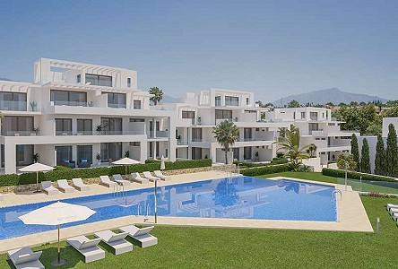 2 bedroom apartment for sale, El Paraiso, Estepona, Malaga Costa del Sol, Andalucia