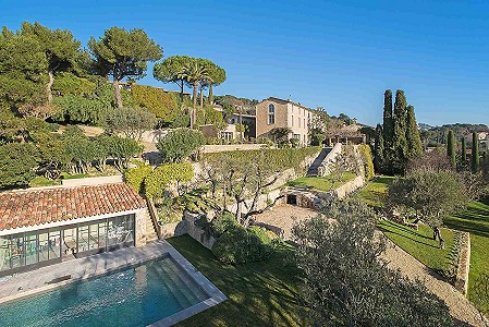 6 bedroom manor house for sale, Pibonson, Mougins, Cote d'Azur French Riviera