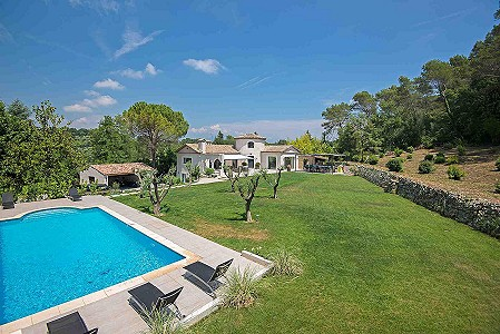 6 bedroom villa for sale, Fontmerle, Mougins, Cote d'Azur French Riviera