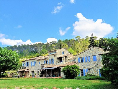 8 bedroom farmhouse for sale, Callian, Var, Cote d'Azur French Riviera