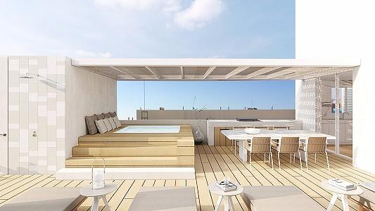 Image 2 | 3 bedroom penthouse for sale, Son Armadans, Palma Area, Mallorca 202206