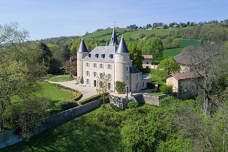 11 bedroom French chateau for sale, Gillonnay, Isere, Rhone-Alpes