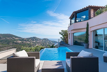 4 bedroom villa for sale, Le Trayas, Theoule Sur Mer, Cannes, Cote d'Azur French Riviera