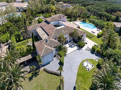Image 1 | 7 bedroom villa for sale with 0.7 hectares of land, Saint Tropez, St Tropez, French Riviera 203027