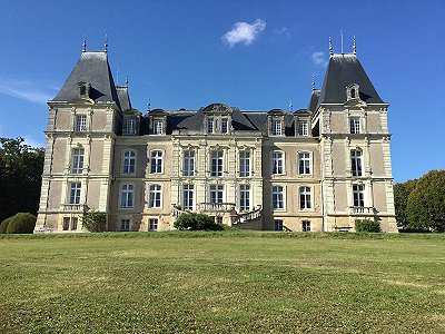 12 bedroom French chateau for sale, North Loire, Maine-et-Loire, Pays-de-la-Loire