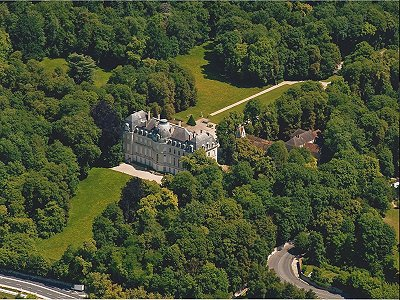 Magnificent 32 bedroom chateau for sale, close to Paris with views of the Seine.